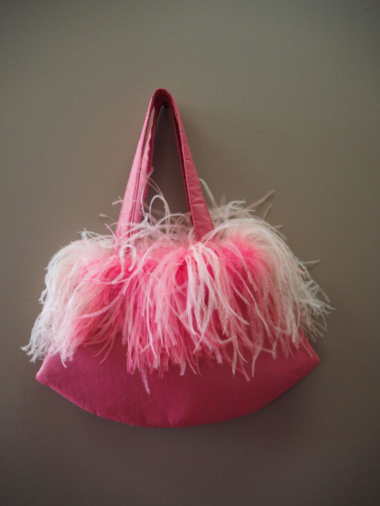 Ostrich Feather Bags - Material